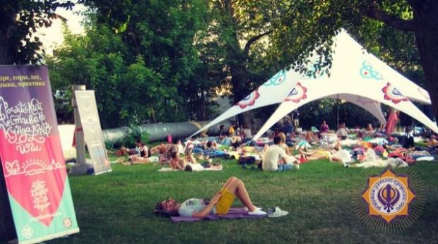 Фестиваль йоги organic people